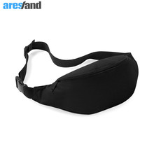 ARESLAND 2 Colors Oxford Fabric Waist Bag Men Women Waist Pack Fanny Pack Waist Pouch Belt Bags Coin Bum Bag for Travel