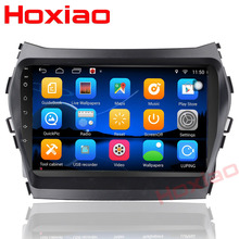 "Android 7.1 for HYUNDAI IX45 Hyundai Santa Fe 2013 2014 2015 Quad Core 9"" Bluetooth 2 Din Car DVD Radio GPS Navigation(China)"