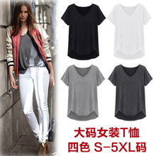 Blusa Hot Sale Time-limited Cotton Regular Tops Europe And The 2016 European Clothing Female Couture T-shirt Summer In Humen