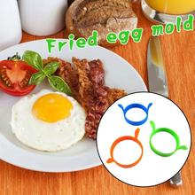 Creative Frying Pan Shape Silicone Mold Omelette Shaper Egg Poach Cookie Cutter Breakfast Essential Moule Silicone