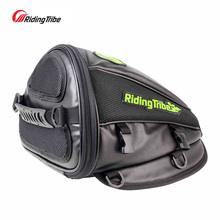 Riding tribe Leather saddle bags motorcycle bag leg waterproof moto tank mochila moto pierna bolsa motocicleta racing oil tank(China)