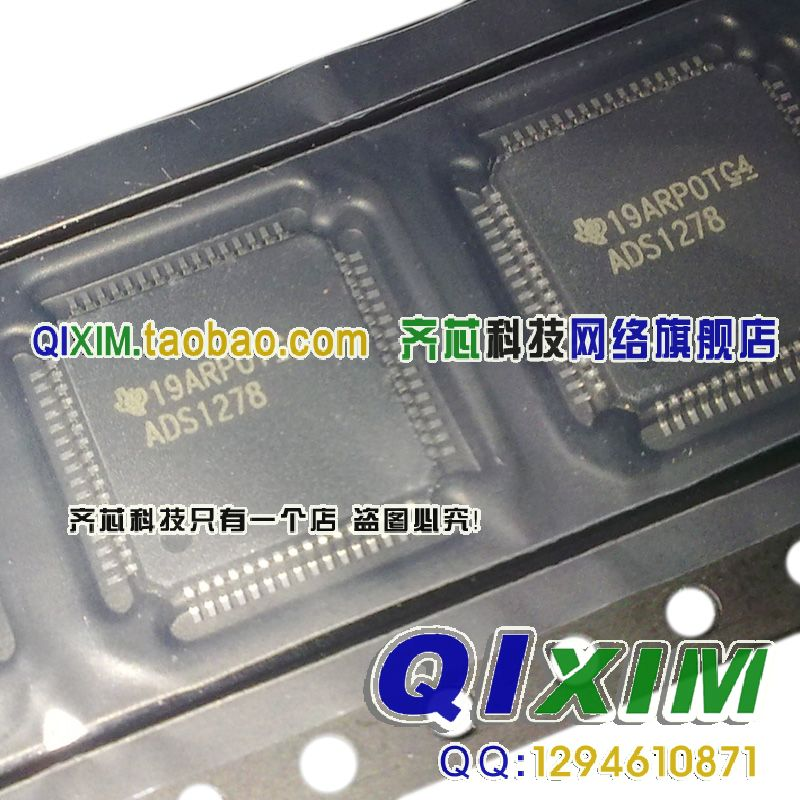 ADS1278IPAP ADS1278  QFP64   new<br>