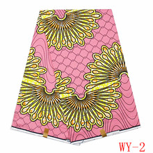 High quality hollandais super wax fabric 2016 Fashion african wax fabric ankara fabric 6yards/pcs with free shipping