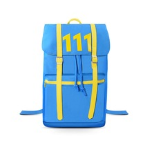 FO 4 Vault 111 Blue Backpack School Bag Good Quality in Stock