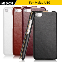 meizu u10 Case meizu u 10 Leather iMUCA Case Flip Cover for meizu u10 Pro Pirme Case Phone Cover Luxury Phone Cases Accessories
