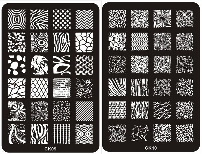 Metal Nail Art Templates | Best Nail Designs 2018