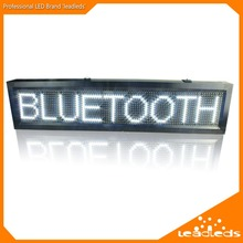 white p10 outdoor led Sign  IP65 waterproof  Support USB computer WiFi edit for Advertising media LED Display