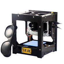 NEJE 500mW cnc laser cutter Laser Engraver USB DIY laser Engraving Machine Printer Automatic Off-line Operation with Glasses