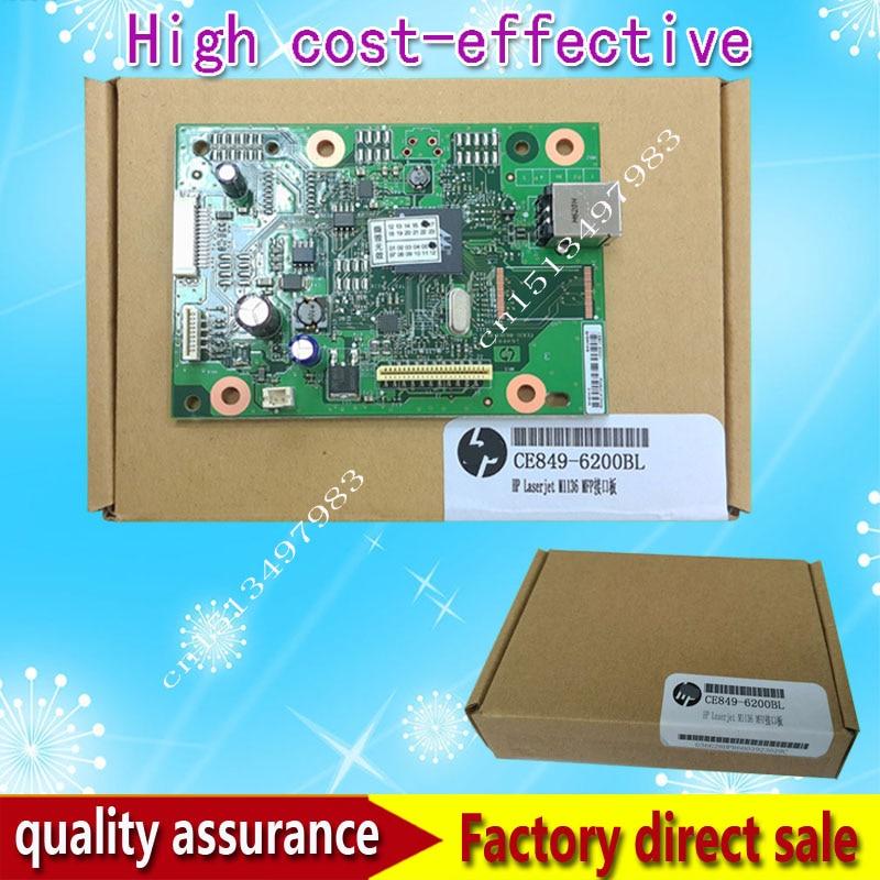 new Original CE831-60001 for H*P M1136 M1136mfp  M1132 M1132mfp 1132mfp Formatter Board logic Main Board MainBoard mother board<br><br>Aliexpress