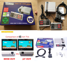 5pcs HDMI Out Retro Classic handheld game player Family TV video game console Childhood Built-in 600/500 Games For nes mini HDMI(China)
