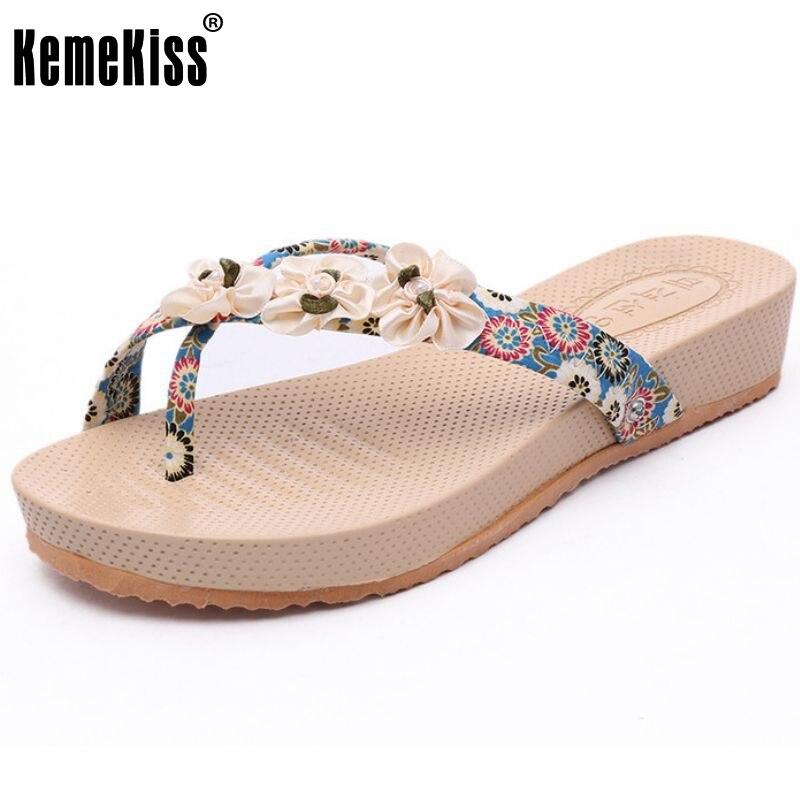 new arrival bohemia flower comfort women sandals slippers summer fashion shoes flip flops women footwear size 35-39 PC00084<br><br>Aliexpress