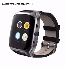 HETNGSYOU 2017 X01S Android Smartwatch Phone Bluetooth Smart Watch 1.3GHz Dual Core IP67 GPS Watch Cam 1G 8G Heart Rate 3G WiFi