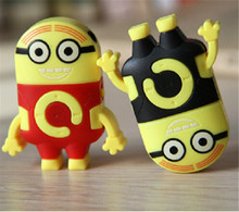 Despicable Me clip mp3 player support TF/Micro SD card music player mp3 + earphone + cable cord 1lot up