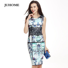 Buy Summer dress Women clothing 2017 robe sexy Elegant print Tunic Formal Office ladies dress Party Pencil Bodycon vestidos de festa for $17.03 in AliExpress store