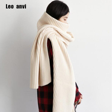 Women Winter Autumn Turtleneck Cashmere blanket scarf Blend Pullover Knitted Cape Scarves Solid Color Warm poncho scarves
