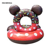 Children Swim Rings Swimming Laps Ring Float 3-10 Years Baby kids Rubber Ring Cartoon Summer Swimming Accessories For Boys Girls(China)