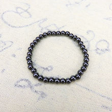 Trendy 6 8 10 Cool Black Magnetic Hematite Stone Therapy Healthcare Beads Bracelet For Men Bangles Jewelry