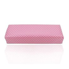 JEYL Hand Cushion Pillow Rest Tool for Nail Art Acrylic UV Gel Polish Dot Pink(China)