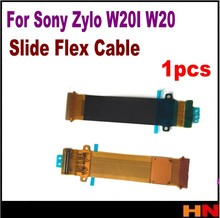 1pcs Orinigal New Slide Flex Cable For Sony Ericsson Zylo W20I W20 Replacement free shipping(China)