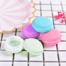 1PCS  Mini Candy Pill Box Macaron Jewelry Earring Necklace Display Storage Case Make-up Jewelry Box Coin Purse