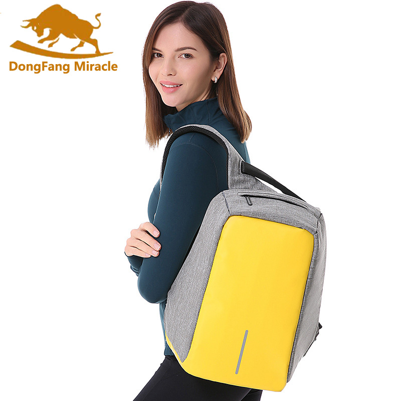 Women Casual Backpacks USB Charging Design School Backpack for  Laptop Backpack Anti-theft Bags for Men Mochila High capacity<br>