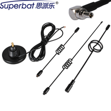 Superbat 820-2170MHz 10DBi GSM/UMTS/HSUPA/3G Antenna Booster for Huawei E156G E160g E169g K4505 CRC9 Magnetic Aerial Male RA(China)