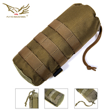 Flyye Water Bottle Pouch Molle Pouch Hunting Pouch Wargame Army Ammo Gear PH-C001 Black Khaki AOR Coyote Genuine Multicam