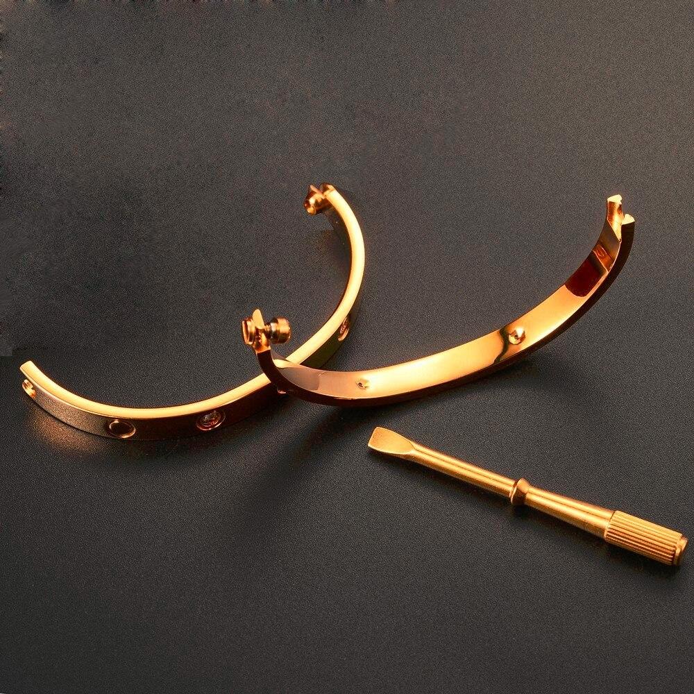 316L-Stainless-Steel-Couple-Jewelry-Carter-Love-Bracelet-Bangle-Women-Men-Screw-Bracelet-Screwdriver-Pulseira-Feminina