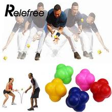 high challenge reaction ball sensitive ball tennis ball badminton reaction speed agility training ball Workout equipment(China)