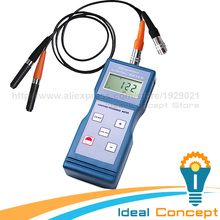 F NF Probe Coating Thickness Meter Magnetic Induction & Eddy Current Enamel Iron