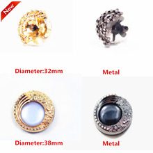 1 pcs,32-38mm mix  fashion metal acrylic Fur buttons, Mink coat buttons. Rhinestone buttons. big with a diamond buckle.accessory