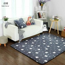 New Collection Cute Animal Bear Area Rug Rugs Slip Skid Resistant Rubber Backing Machine Washable More Colors Options 3 sizes(China)