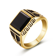 eejart 316L stainless steel Fashion  ring freemason ring for men trandy gold plating Masonic jewelry