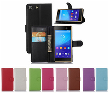Hot Selling Phone Bags for Sony Xperia M5 Cases Wallet Leather Phone Accessories Cover for Sony Xperia M5 With Card Holder