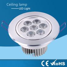 Epistar High power LED Downlight Ceiling lamp light Dimmable 9W 12W 15W 21W Warm /Natur/Cold White Recessed Spot light 110V-220V