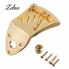 75x45x9mm Metal Golden Triangle 8-String Mandolin Tailpiece For Musical Stringed Instruments Guitar Parts Accessories