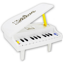 11 Keys Portfolio Folded Learning Toys Piano for Children Kids Gift Education Toy(China)