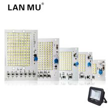 LAN MU LED Lamp Chips 220V SMD Bulb 2835 5730 Smart IC Led Light Input 10W 20W 30W 50W 90W For Outdoor FloodLight(China)