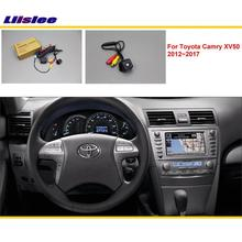 For Toyota Camry XV50 2012~2017 Car Rear View Back Up Reverse Camera Sets / RCA & Original Screen Compatible / Parking Camera