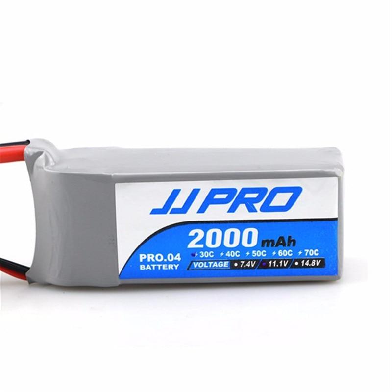 Newest Rechargeable Lipo Battery JJPRO-P02 11.1V 30C 3S 2000mAh Lipo Battery For Multirotor<br><br>Aliexpress