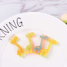 2Pcs cute giraffe luminous rubber eraser kawaii creative stationery school supplies papelaria gifts for kids(China)