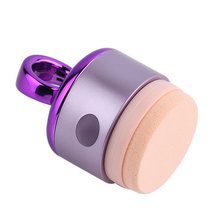 1 Set 3D Electric Smart Foundation Face Powder Puff Vibrating Make up Foundation Applicator Tool Boxed With 2 Extra Puffs