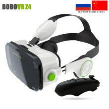 HOT BOBOVR Z4 3D Glasses Virtual Reality Helmet 3D Movie VR BOX Headset Phone Game Video Private Theater +Bluetooth Gamepad 5.0