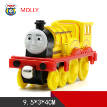 MOLLY One Piece Diecast Metal Train Toy Thomas and Friends Megnetic Train The Tank Engine Toys For Children Kids Gifts