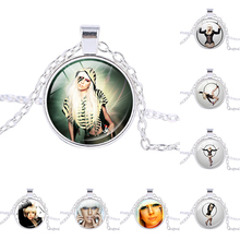 Lady Gaga picture charm necklace Mother Monster pendant Jo Calderone personalized bridesmaid gifts Women Fashion Jewelry