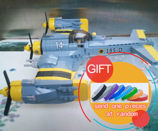 22021 572PCS Technical Series The Beautiful Science Fiction Fighting Aircraft Set Building Blocks Bricks Toys Model<br>