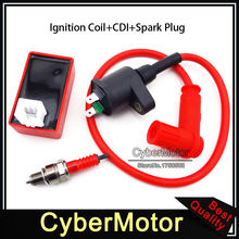 Racing Ignition Coil AC CDI Box Spark Plug A7TC Engine Parts For Chinese ATV Quad 4 Wheeler Pit Dirt Bike CRF50 SSR Thumpstar(China)