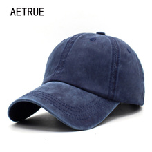 AETRUE Brand Fashion Women Baseball Cap Men Snapback Caps Casquette Bone Hats For Men Solid Casual Plain Flat Gorras Blank Hat(China)