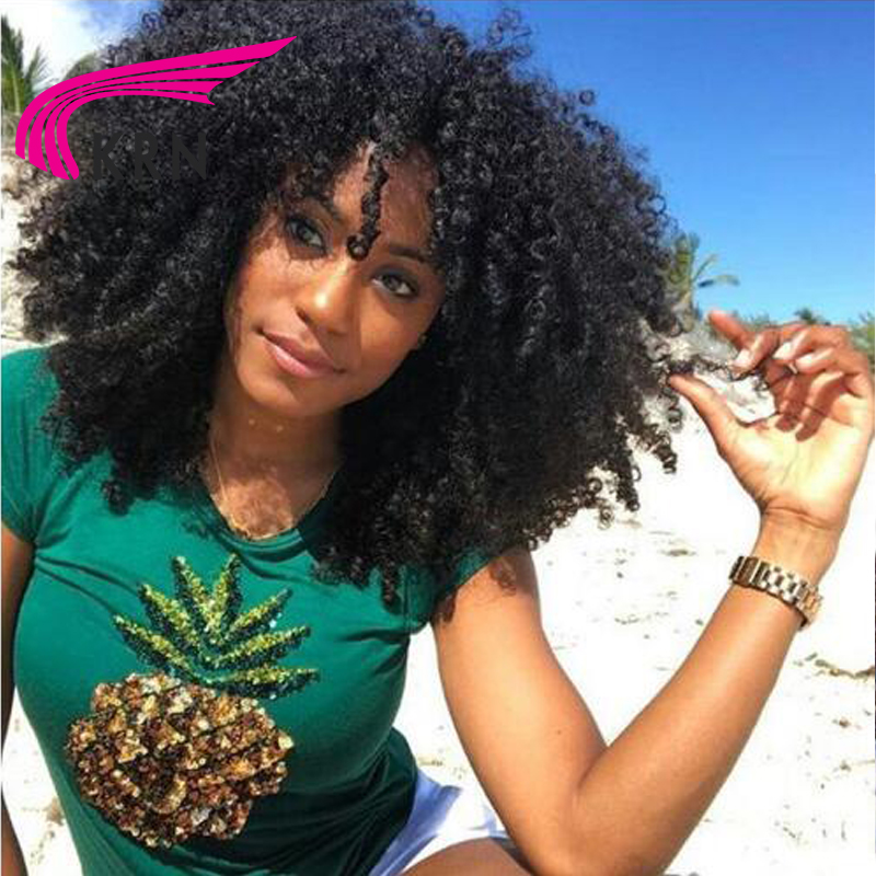 kinky curly wigs for black women
