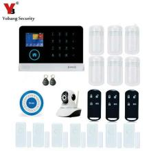 Yobang Security WIFI Gsm Alarm Systems WIFI+GSM+GPRS Wifi Automation GSM Alarm System Home Protection GPRS WIFI GSM Alarm System